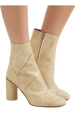 ACNE STUDIOS Allis patent-leather boots