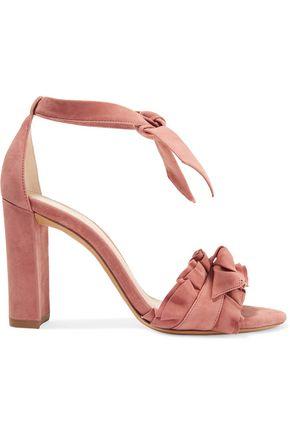 ALEXANDRE BIRMAN Lupita ruffle-trimmed suede sandals