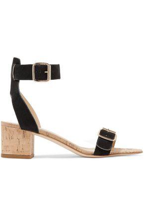 ATP ATELIER Carmen suede and cork sandals