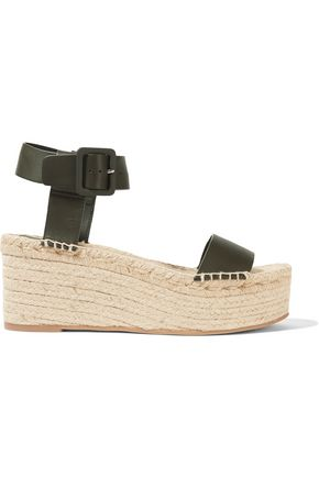 VINCE. Abby leather sandals