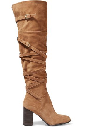 SAM EDELMAN Sable suede over-the-knee boots
