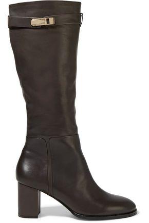 HALSTON HERITAGE Ava embellished leather boots