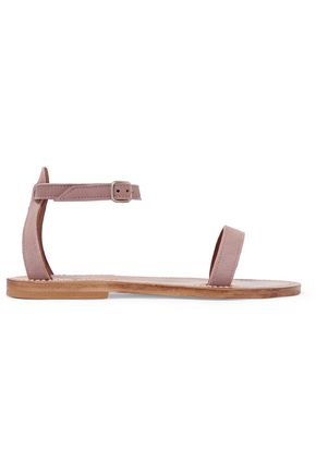 K.JACQUES ST. TROPEZ Laura suede sandals