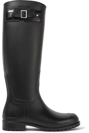 SAINT LAURENT Festival rubber rain boots