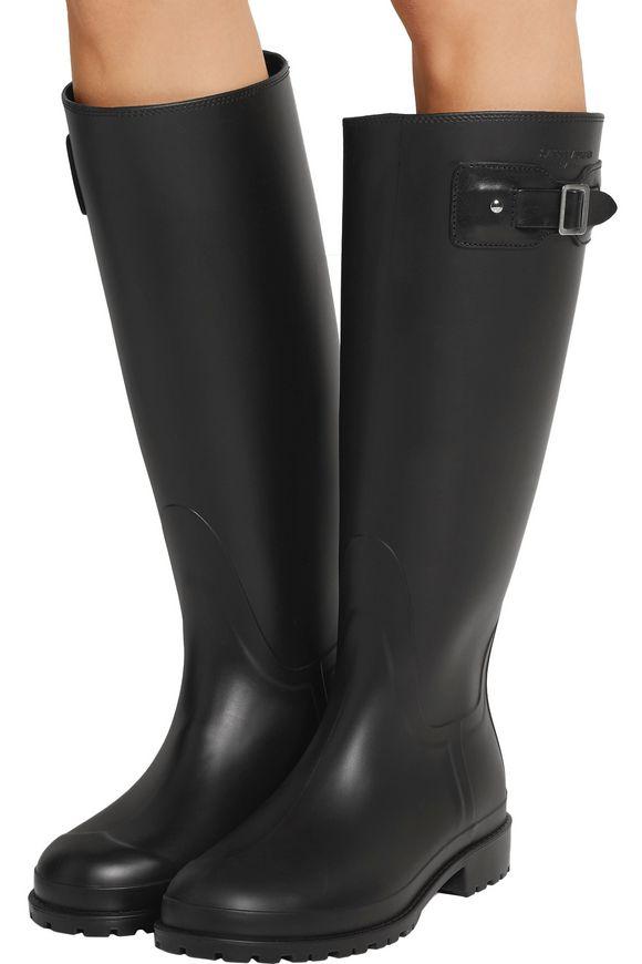 Festival rubber rain boots | SAINT LAURENT | Sale up to 70% off | THE OUTNET