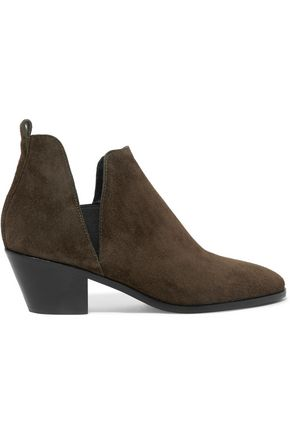 SIGERSON MORRISON Oliva cutout suede ankle boots