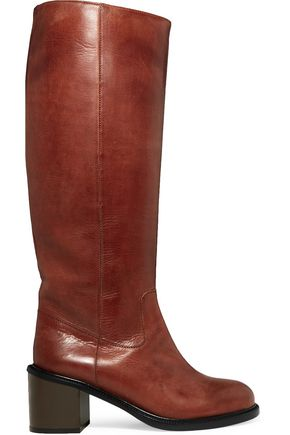 MM6 MAISON MARGIELA Stivale leather knee boots