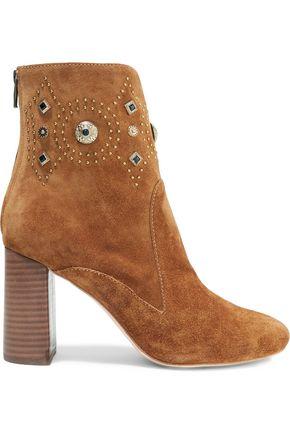 SIGERSON MORRISON Sheyla embellished suede ankle boots