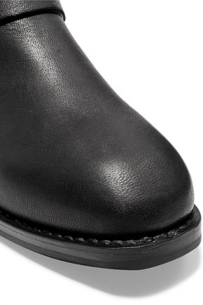 RAG & BONE Oliver textured-leather ankle boots