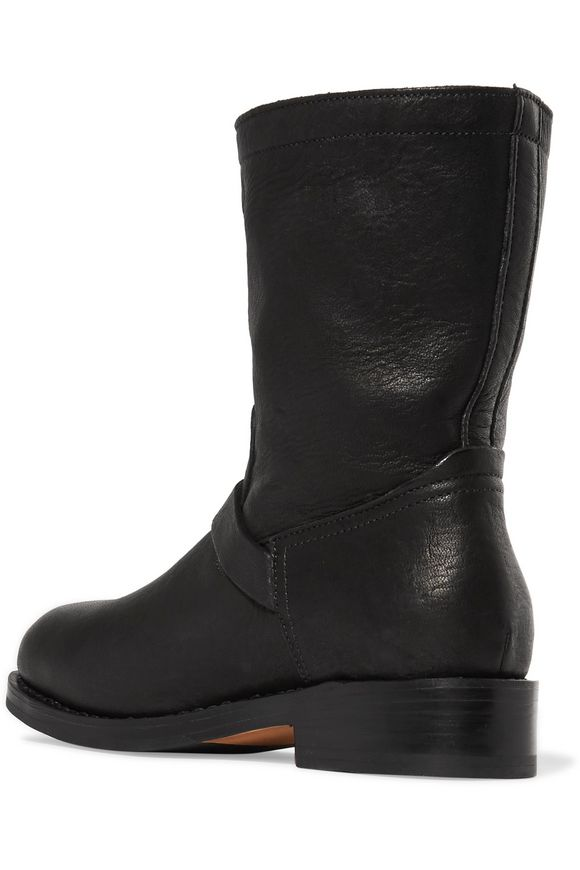 Oliver textured-leather ankle boots | RAG & BONE | Sale up to 70% off | THE  OUTNET