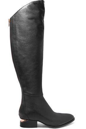 ALEXANDER WANG Sigrid cutout knee boots