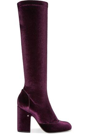 LAURENCE DACADE Magnolia velvet boots