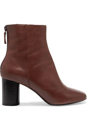 SANDRO Paris Leather ankle boots
