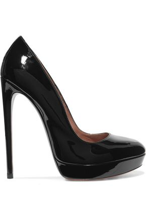 ALAÏA Patent leather pumps
