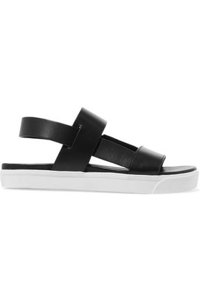 DKNY Brodie contrast leather sandals