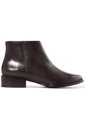 DKNY Lara leather ankle boots