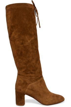 CASADEI Suede knee boots