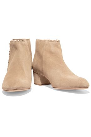 MAJE Felicia suede ankle boots