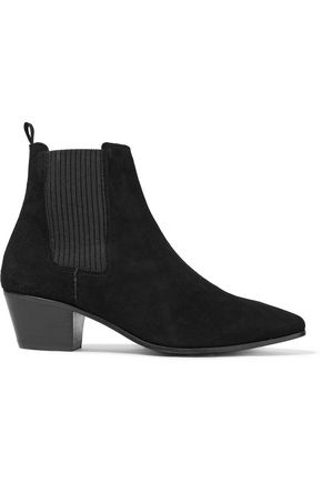 MAJE Fimy suede ankle boots