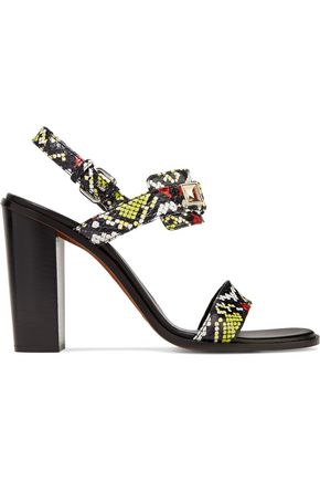 PROENZA SCHOULER PS11 embellished watersnake sandals