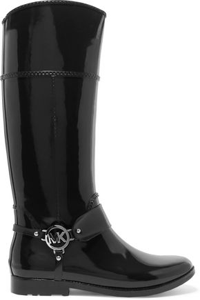 MICHAEL KORS Fulton Harness rubber rain boots