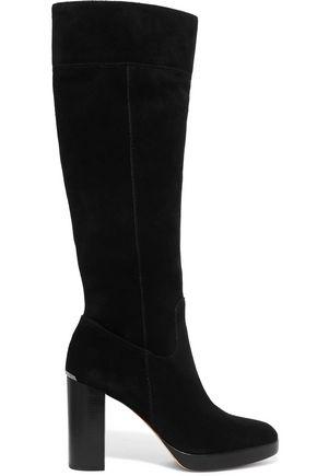 MICHAEL MICHAEL KORS Regina nubuck knee boots