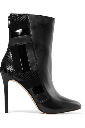 MICHAEL MICHAEL KORS Paneled leather ankle boots