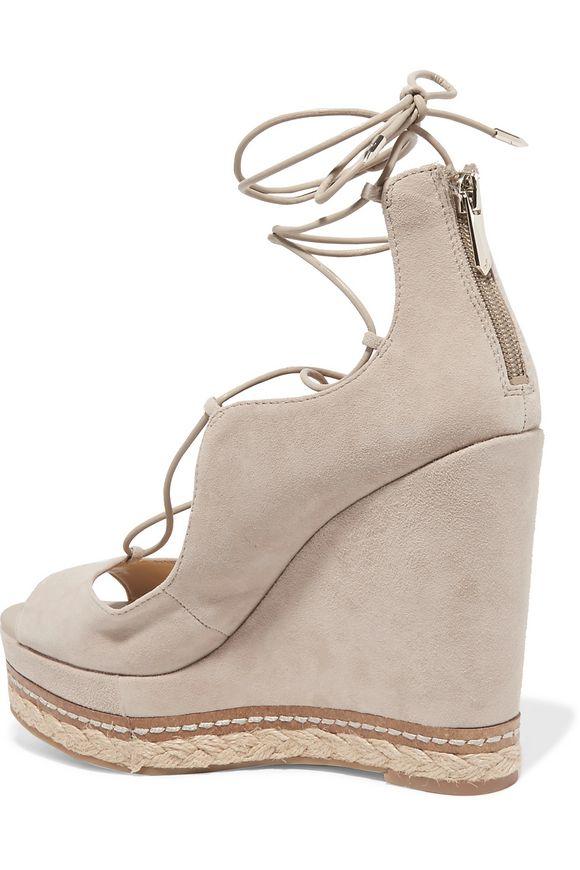 f6e6825690a Harriet suede espadrille wedge sandals | SAM EDELMAN | Sale up to 70 ...