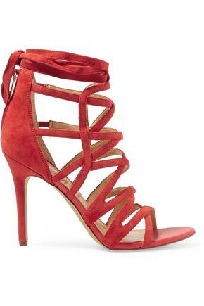 SAM EDELMAN Alba cutout suede sandals