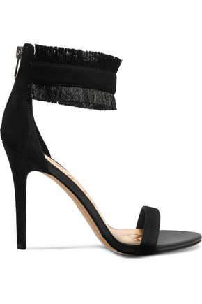 SAM EDELMAN Anabeth fringed suede sandals