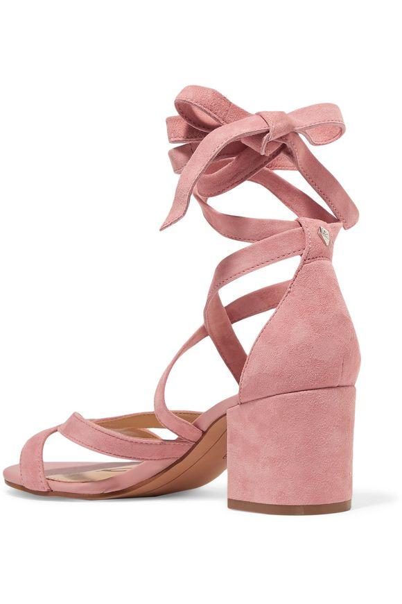 ac6d11e84db848 Sheri lace-up suede sandals