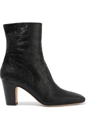 IRO Onasis sliced leather ankle boots