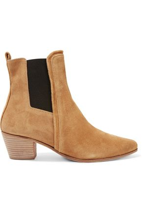 IRO Kate two-tone suede ankle boots