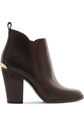 MICHAEL MICHAEL KORS Brandy leather ankle boots