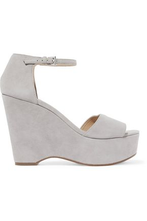 MICHAEL MICHAEL KORS Suede wedge sandals