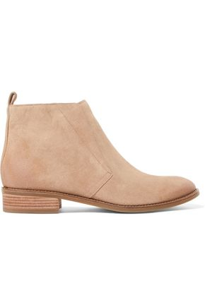 MICHAEL MICHAEL KORS Riley distressed suede ankle boots