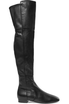MICHAEL KORS COLLECTION Coraline leather over-the-knee boots