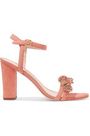 LOEFFLER RANDALL Layla tassel-trimmed suede sandals