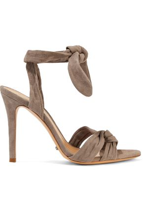 SCHUTZ Monia knotted suede sandals
