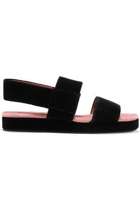 SONIA RYKIEL Velvet sandals