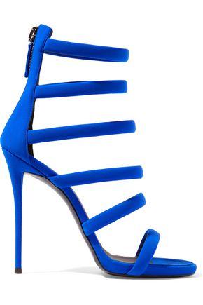 GIUSEPPE ZANOTTI Crepe sandals