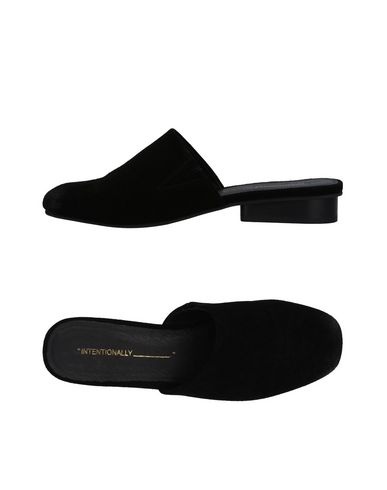Zoccoli Nero donna INTENTIONALLY_______. Mules&Zoccoli donna