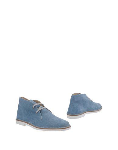 Фото - Полусапоги и высокие ботинки от MY GUFO небесно-голубого цвета