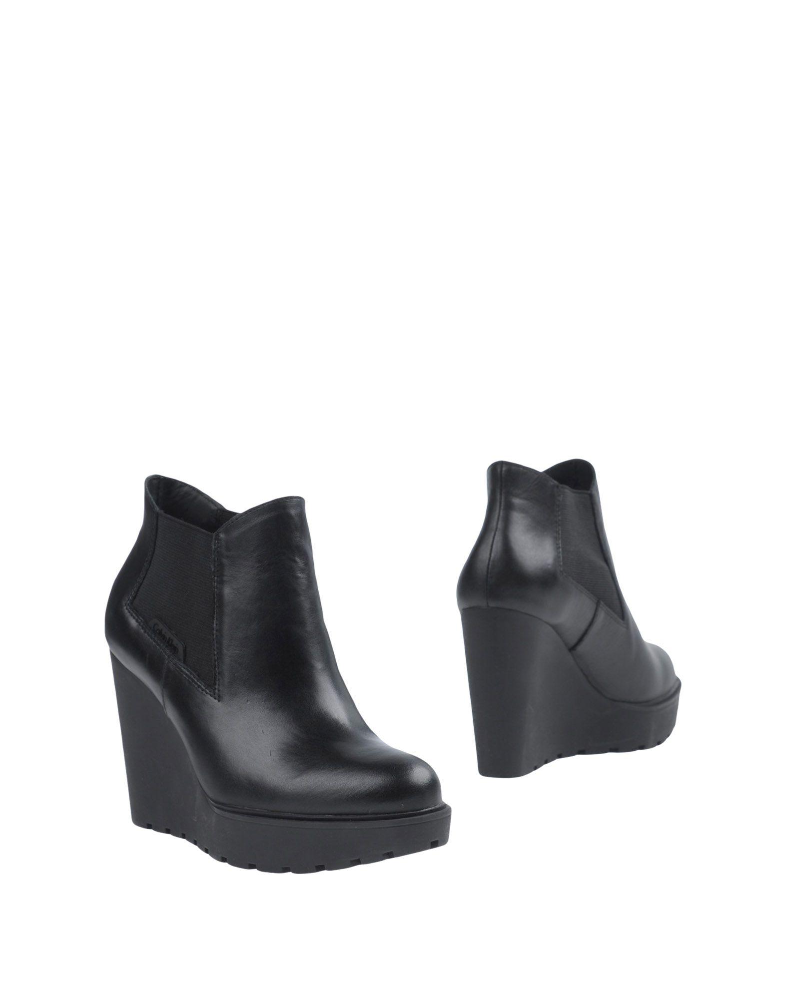CALVIN KLEIN JEANS Полусапоги и высокие ботинки