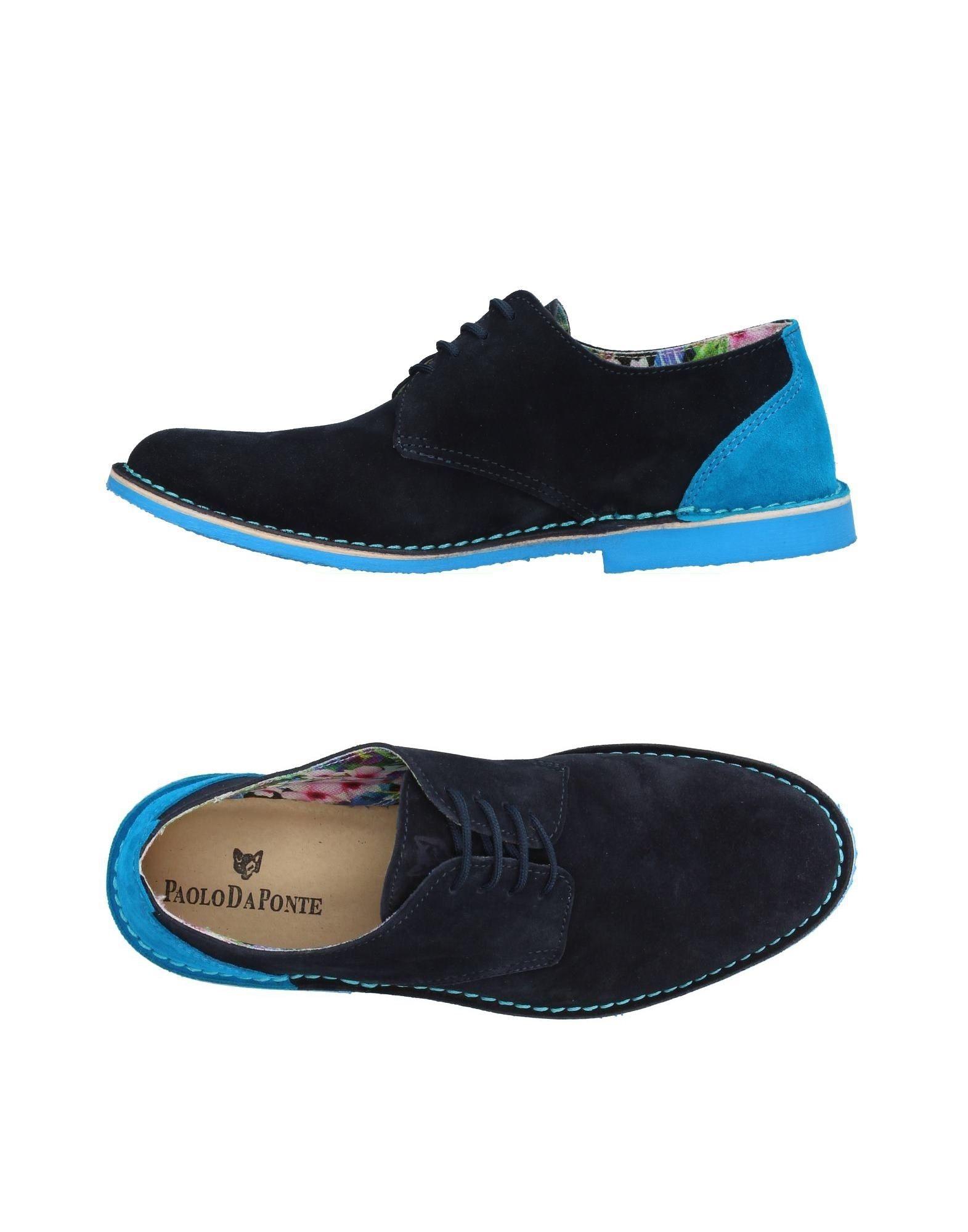 PAOLO DA PONTE Обувь на шнурках все цены