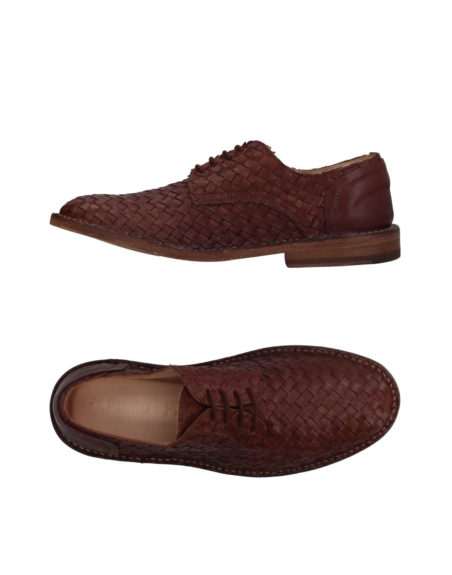 PUNTO PIGRO Обувь на шнурках цены онлайн