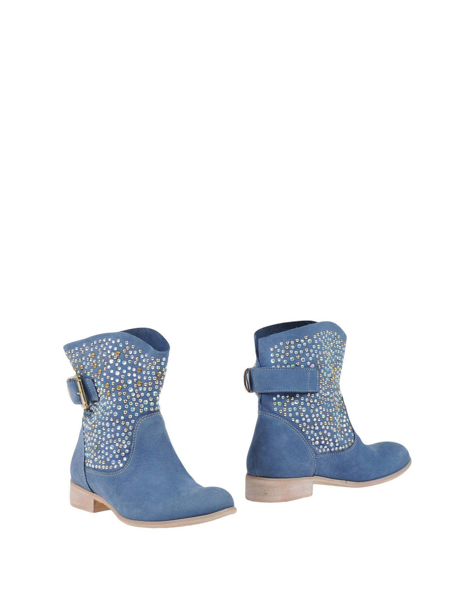 GIANLUCA GIORDANO Полусапоги и высокие ботинки цены онлайн