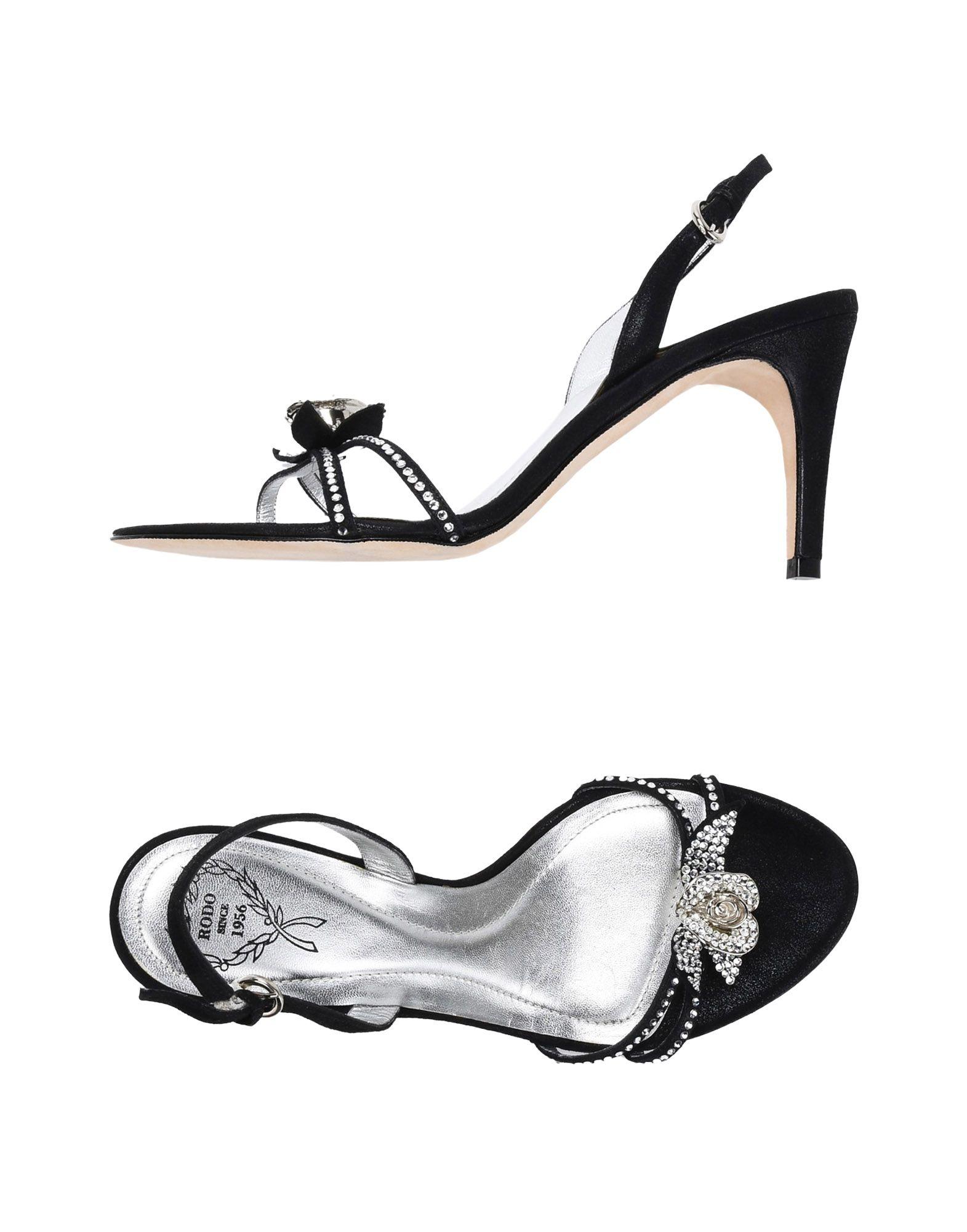 RODO Damen Sandale Farbe Schwarz Größe 7 jetztbilligerkaufen