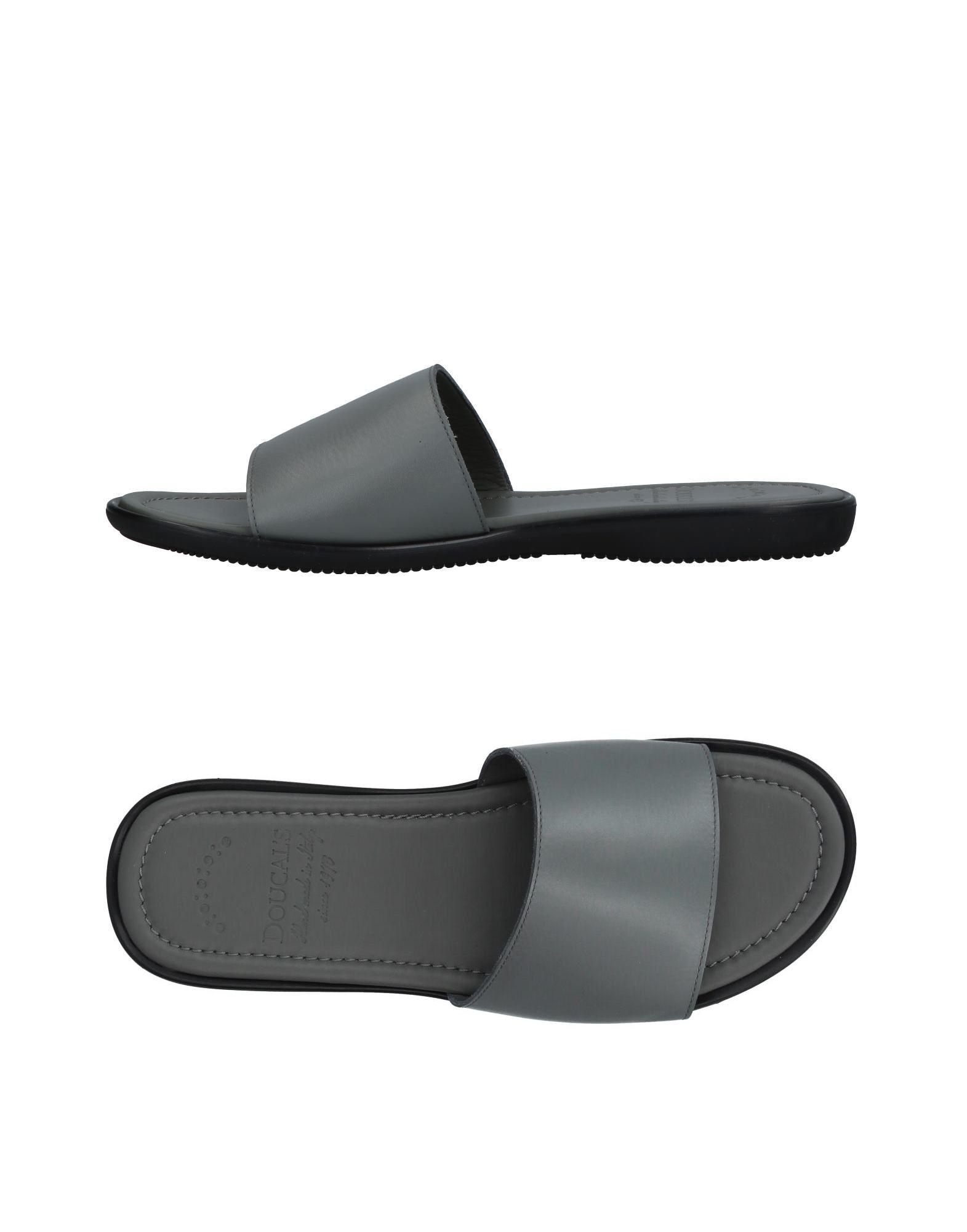 DOUCAL´S Herren Sandale Farbe Hellgrau Größe 9 jetztbilligerkaufen