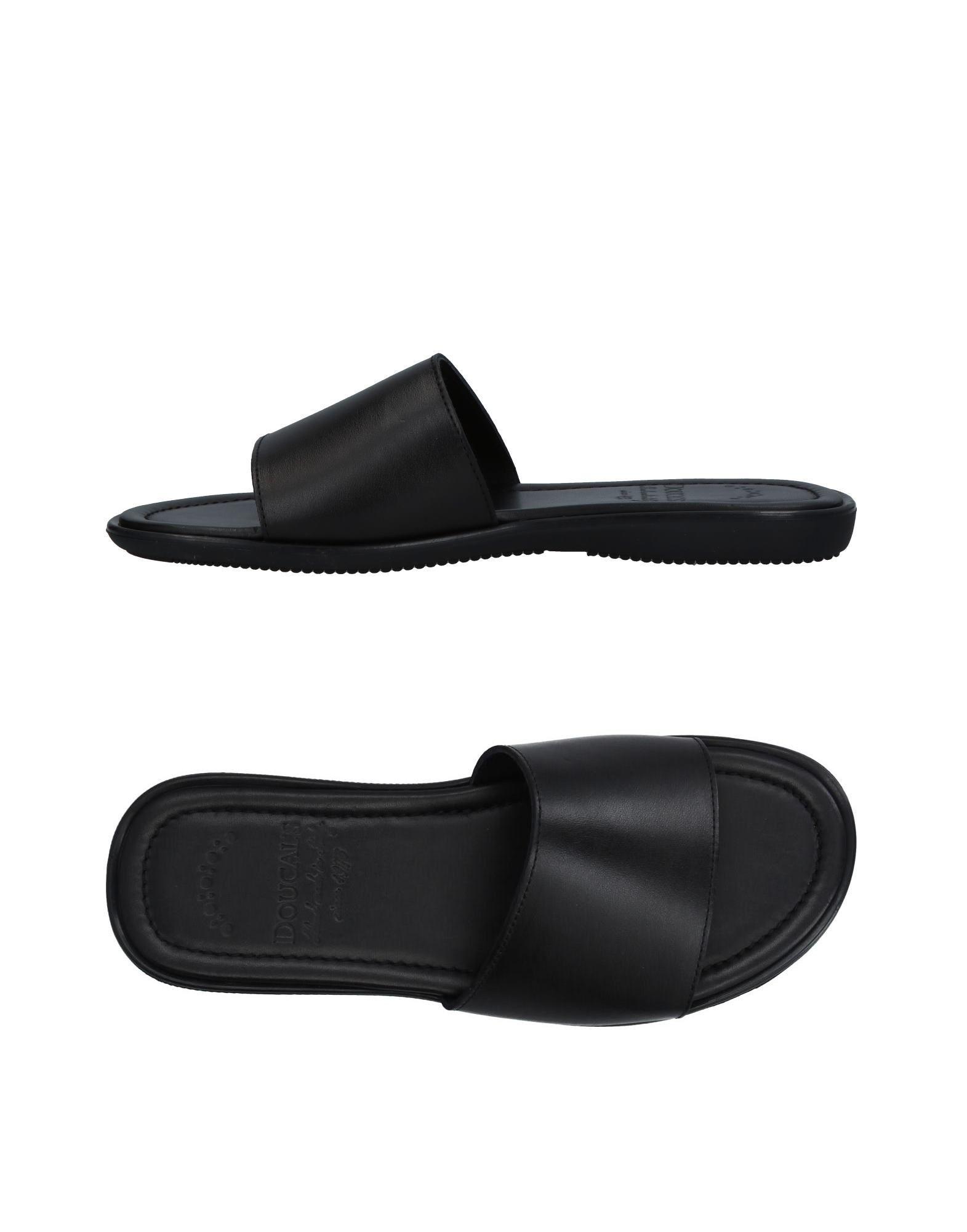 DOUCAL´S Herren Sandale Farbe Schwarz Größe 9 jetztbilligerkaufen